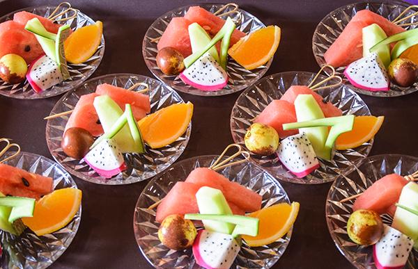 酒店水果拼盘